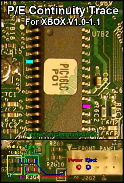P-E Continuity Trace Xbox V1.0-V1.1