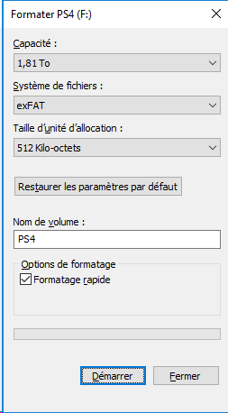 FICHIER DE REINSTALLATION PS4 TÉLÉCHARGER