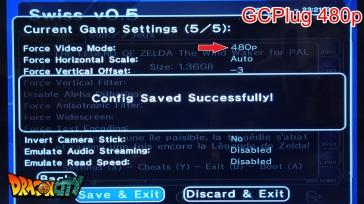 video mode ntsc-480p-choix