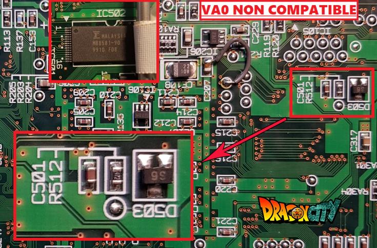 VA0 non compatible